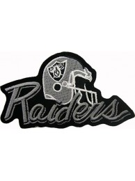 Oakland Raiders NFL Embroidered Patch #06