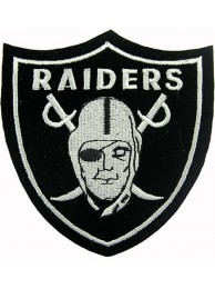 Oakland Raiders NFL Embroidered Patch #08a
