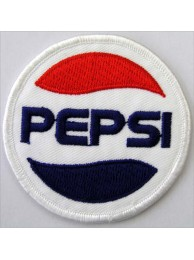 PEPSI Soda Iron On Embroidered Patch #03