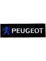 PEUGEOT AUTO RACING IRON ON EMBROIDERED PATCH #05