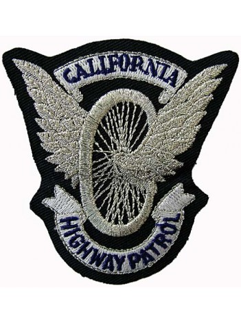 POLICE CALIFORNIA HIGHWAY PETROL PATCH