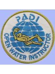 PADI SCUBA - OPEN WATER INSTRUCTOR PATCH (A)