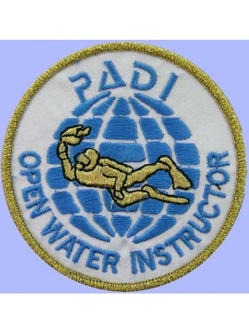 PADI SCUBA - OPEN WATER INSTRUCTOR PATCH (C)