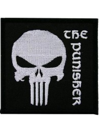 THE PUNISHER COMIC CARTOON PATCH