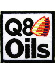 Q8 OIL SHELL / ADVANCE RACING EMBROIDERED PATCH #02