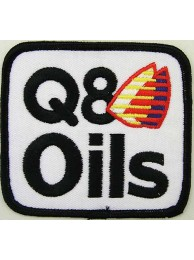 Q8 OIL RACING EMBROIDERED PATCH #03