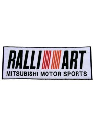 GIANT RALLI ART MITSUBISHI EMBROIDERED PATCH (K1)