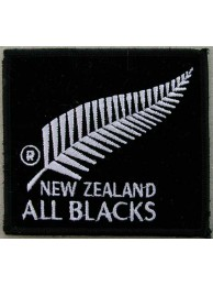 All Blacks New Zealand Rugby Embroidered Patch #02