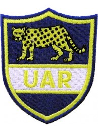 ARGENTINA RUGBY UAR UNION EMBROIDERED PATCH #01