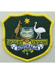 Australia Wallabies Rugby Embroidered Patch #01