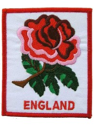 ENGLAND RUGBY UNION EMBROIDERED PATCH #01