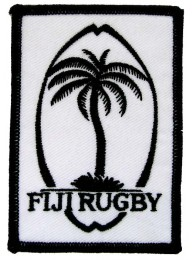 Fiji Rugby Union Iron on Embroidered Patch #01
