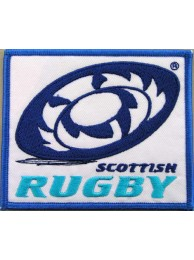 SCOTLAND / SCOTTISH RUGBY EMBROIDERED PATCH #02