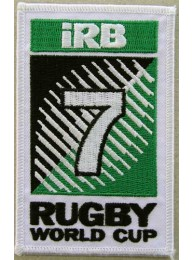 IRB 7vRUGBY WORLD EMBROIDERED PATCH #02