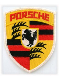 PORSCHE AUTOMOBILE IRON ON EMBROIDERED PATCH #02