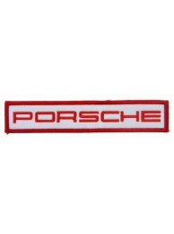 PORSCHE AUTOMOBILE IRON ON EMBROIDERED PATCH #03