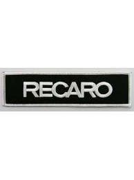 RECARO RACING IRON ON EMBROIDERED PATCH #01