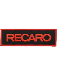 RECARO RACING IRON ON EMBROIDERED PATCH #03