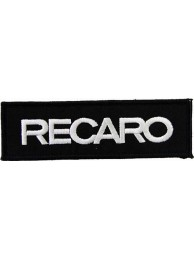 RECARO RACING IRON ON EMBROIDERED PATCH #04