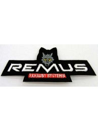 REMUS TIRE /TYRE EMBROIDERED PATCH