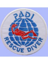 PADI SCUBA - RESCUE DIVER PATCH (C)