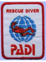 PADI SCUBA - RESCUE DIVER PATCH (06c)