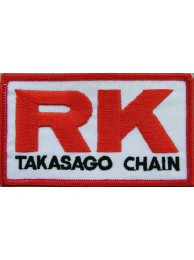 RK TAKASAGO CHAIN EMBROIDERED PATCH #01