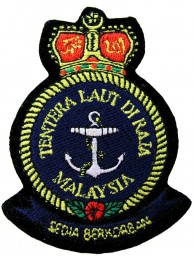 RMN MALAYSIA NAVY EMBROIDERED PATCH