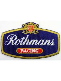 ROTHMANS RACING SPORT  EMBROIDERED PATCH #01