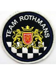 ROTHMANS RACING BIKER EMBROIDERED PATCH #05