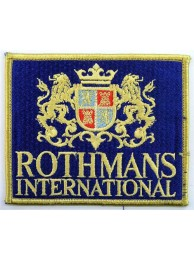 ROTHMANS RACING SPORT  EMBROIDERED PATCH #03