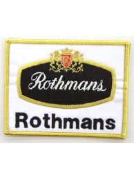 ROTHMANS RACING SPORT  EMBROIDERED PATCH #04