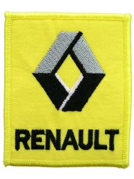 RENAULT AUTOMOBILE F1 LOGO EMBROIDERED PATCH #02
