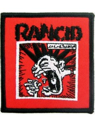 RANCID PUNK & ROCK EMBROIDERED PATCH