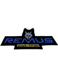 REMUS TIRE RACING SPORT IRON ON EMBROIDERED PATCH