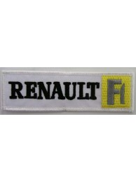 RENAULT AUTO IRON ON EMBROIDERED PATCH