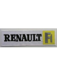 RENAULT AUTO IRON ON EMBROIDERED PATCH #04
