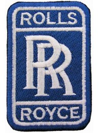 ROLLS ROYCE AUTOMOBILE IRON ON EMBROIDERED PATCH