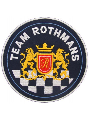 GIANT ROTHMANS RACING BIKER EMBROIDERED PATCH (P1)