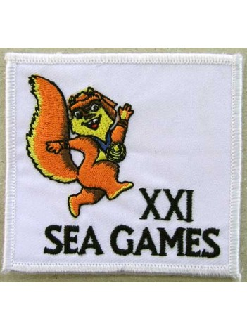 SEA GAMES EMBROIDERED PATCH