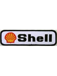 SHELL OIL & GAS F1 RACING EMBROIDERED PATCH #02