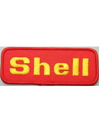 SHELL OIL & GAS F1 RACING EMBROIDERED PATCH #04
