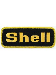 SHELL OIL & GAS F1 RACING EMBROIDERED PATCH #05