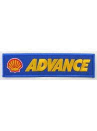 SHELL / ADVANCE RACING EMBROIDERED PATCH #06