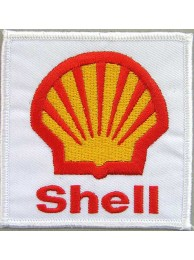 SHELL / ADVANCE RACING EMBROIDERED PATCH #12