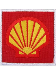 SHELL OIL & GAS RACING SPORT EMBROIDERED PATCH #13