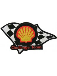 SHELL OIL & GAS RACING SPORT EMBROIDERED PATCH #14