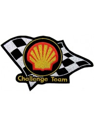SHELL OIL & GAS RACING SPORT EMBROIDERED PATCH #14b