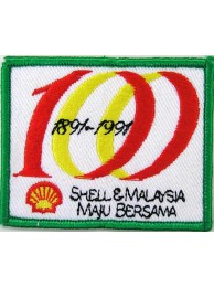 SHELL OIL & GAS RACING SPORT EMBROIDERED PATCH #15