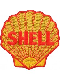 "SHELL OIL & GAS RACING SPORT EMBROIDERED PATCH #17 (3"")"